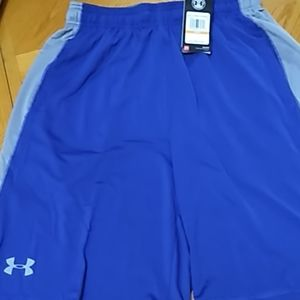 New with tags Under Armour basketball shorts